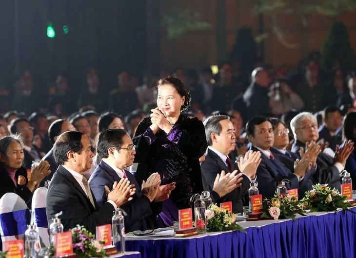 """베트남 공산당 창립 90주년 기념 """"믿음의 빛"""" 생방송 - ảnh 1"""