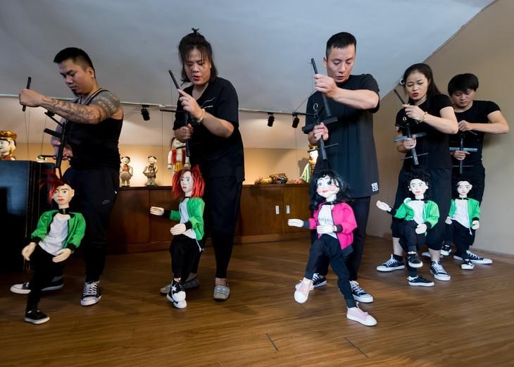 전통 수상인형극 종사자들의 이야기 - ảnh 3