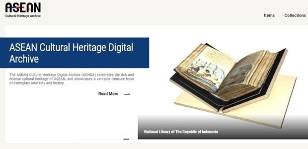 아세안, 지역문화유산 디지털 문서고 포털 개설 - ảnh 1