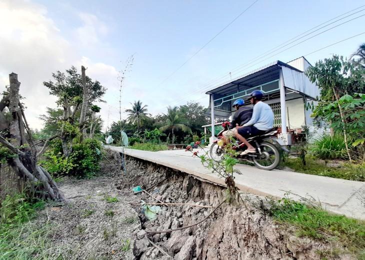 베트남 최남단 까마우 곶, 가뭄 심각  - ảnh 10