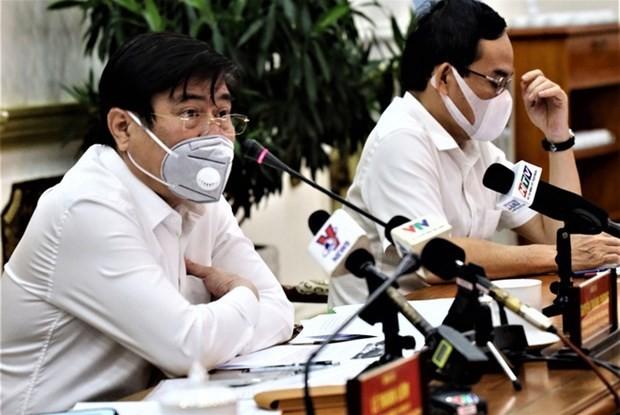 호찌민시, 코로나 19 감염 전파 통제에 노력 - ảnh 1