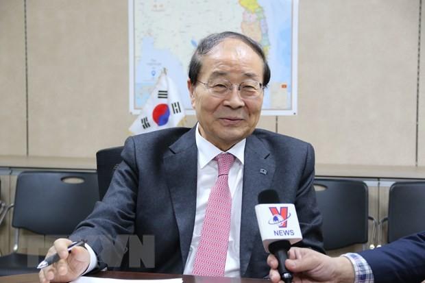 한 – 베 우호협회, 재한국 베트남인들에게 마스크 전달 - ảnh 1