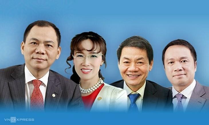 베트남 사업자 4명, 포브스 세계 갑부 명단에 기재 - ảnh 1