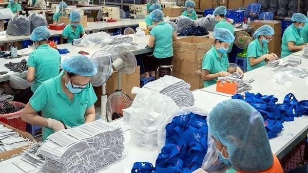 베트남, 대규모 마스크 생산 능력 보유 - ảnh 1