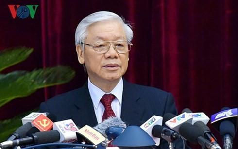 응우옌 푸 쫑 서기장 – 국가주석, 베트남기자협회 70주년 기념에 축하 서신 - ảnh 1