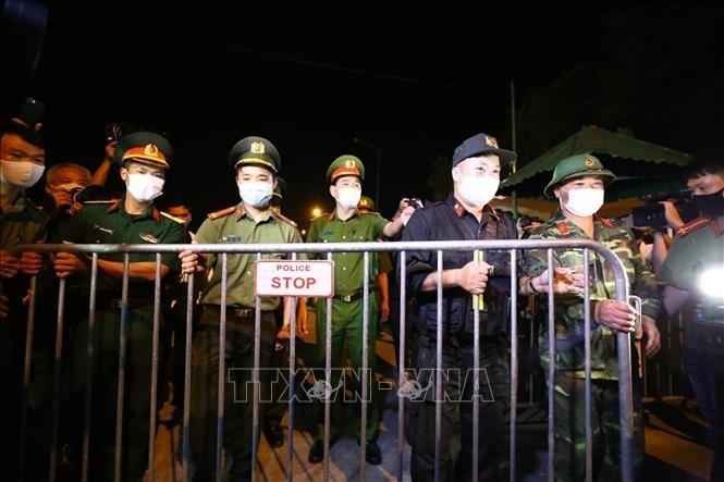하노이, 메린현 메린읍 하로이 마을 격리 명령 해제 - ảnh 1