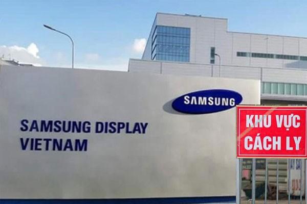 베트남 삼성 디스플레이, 코로나19 방역에 대한 베트남 정부에 감사 표시 - ảnh 1