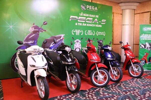 베트남 전기오토바이, 환경친화 제품 출시 - ảnh 1
