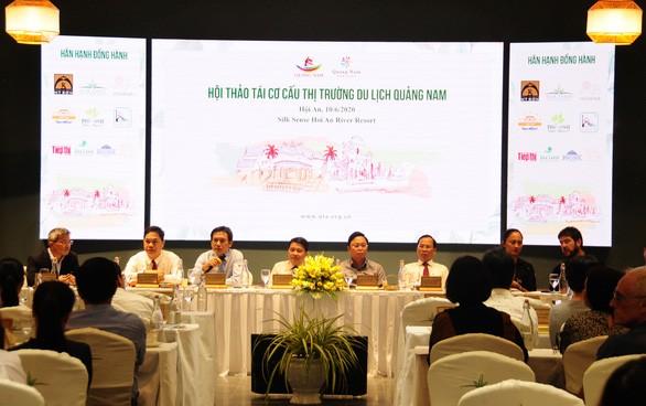 베트남 관광:  꽝남, 지속가능한 녹색발전 방향으로 시장 재구축 - ảnh 1