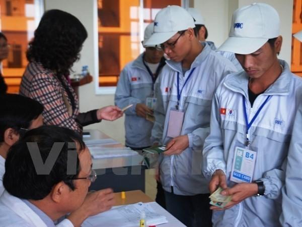 한국, 노동계약 만료 베트남 노동자에 대한 체류 30일 연장 - ảnh 1