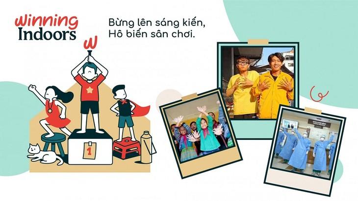 """코로나19 방역 : """"Winning Indoors"""" 캠페인을 통해 아동들의 창의력 장려 - ảnh 1"""