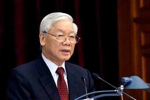 응우옌 푸 쫑 서기장 – 국가주석 : 국가를 새로운 차원으로 격상시키는 8차 당대회 준비와 진행 - ảnh 1