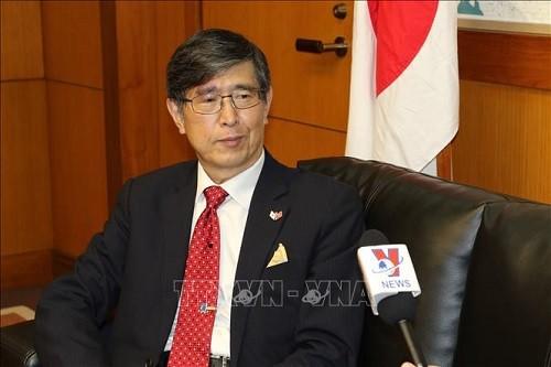 일본 외무상, 2020년 아세안 의장국 베트남 리더십 높이 평가  - ảnh 1