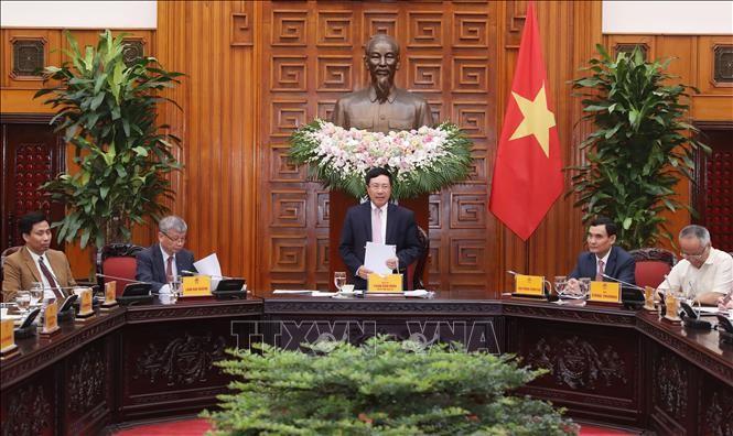 팜 빈 민 부총리 겸 외교부 장관 : 베트남, 지적재산권 촉진 보장 - ảnh 1