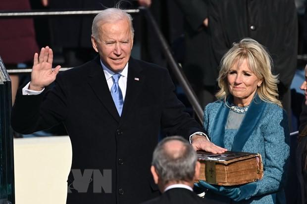 베트남 당, 정부 지도부, 미국 신임 대통령 및 부통령에 축전 - ảnh 1