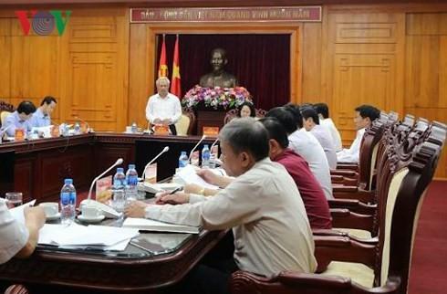 La Direction nationale de lutte anti-corruption travaille avec les autorités de Lang Son - ảnh 1