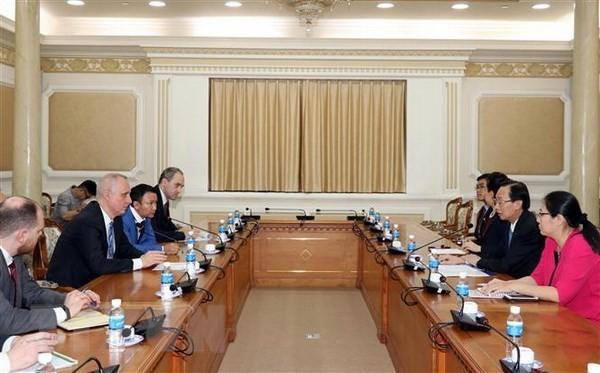Hô Chi Minh-ville créera des conditions optimales pour les entreprises biélorusses - ảnh 1