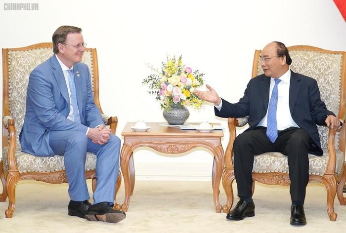 Nguyên Xuân Phuc reçoit le gouverneur du land de Thuringe - ảnh 1