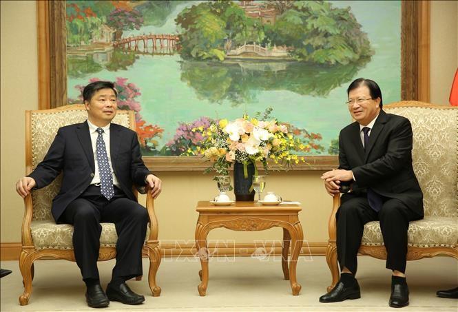Trinh Dinh Dung rencontre le vice-gouverneur du Guangdong   - ảnh 1