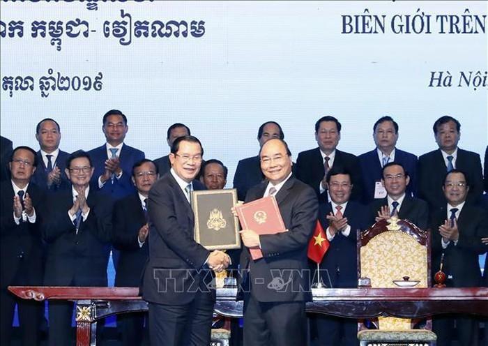 Vietnam-Cambodge: 84% des frontières terrestres délimitées  - ảnh 1