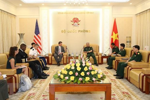 Renforcer les collaborations Vietnam – États-Unis en défense - ảnh 1