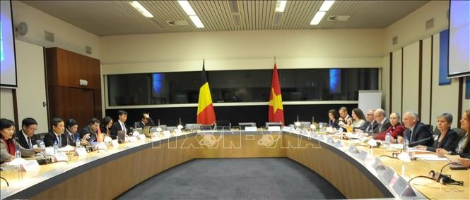 Vietnam-Belgique: 5e session de la commission mixte de coopération économique - ảnh 1