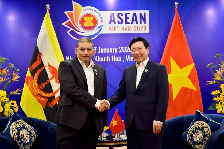 Vietnam-Brunei: renforcement de la coopération - ảnh 1
