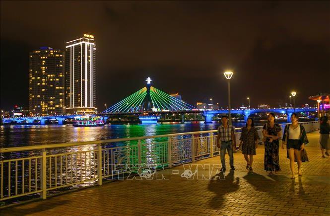 Da Nang : le nombre de touristes étrangers augmentent de 13% pendant le Têt - ảnh 1