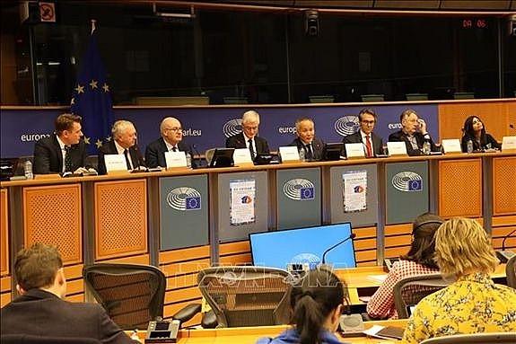 Les parlementaires européens bien informés de l'EVFTA et l'EVIPA - ảnh 1