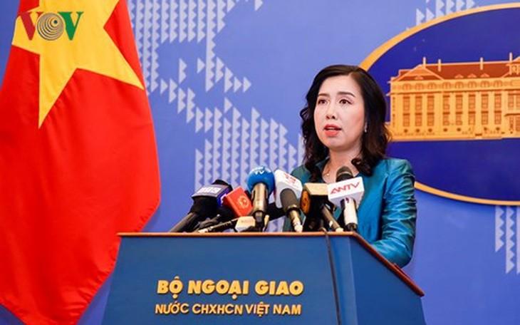 Le Vietnam salue tous les efforts visant à relancer le processus de paix au Moyen-Orient - ảnh 1