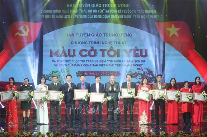 Bilan du concours de connaissance sur le Parti communiste vietnamien - ảnh 1