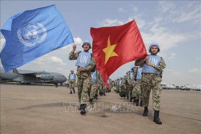 Mission de maintien de la paix: ateliers pour les soldats vietnamiens - ảnh 1