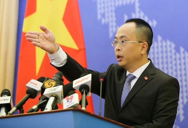 Conférence de presse du ministère des Affaires étrangères du 20 février - ảnh 1