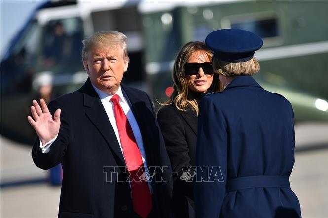 Donald Trump entame une visite en Inde - ảnh 1