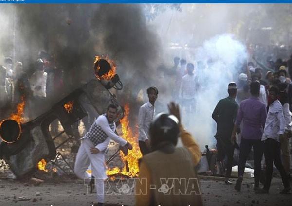 Inde: le bilan s'alourdit à New Delhi où les violences continuent  - ảnh 1