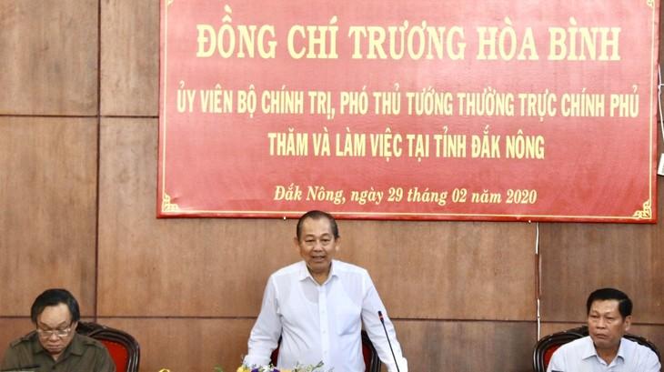 Truong Hoa Binh à Dak Nông - ảnh 1