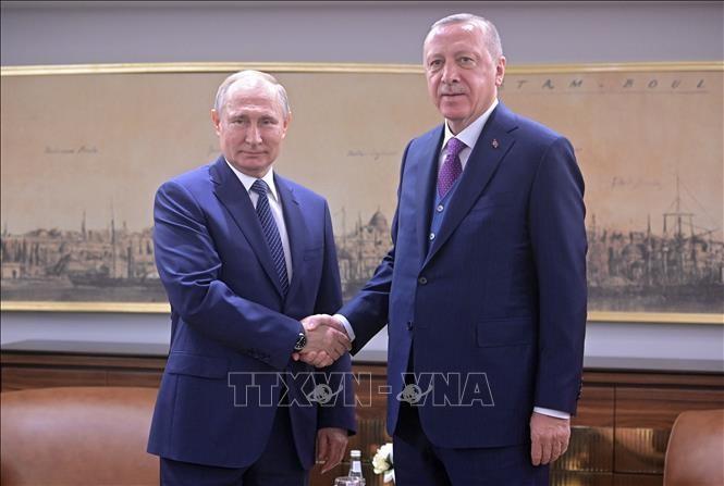 Syrie: Erdogan et Poutine vont se rencontrer jeudi en Russie - ảnh 1