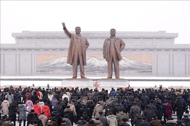 Coronavirus: Pyongyang célèbre plus discrètement la naissance de Kim Il-sung - ảnh 1
