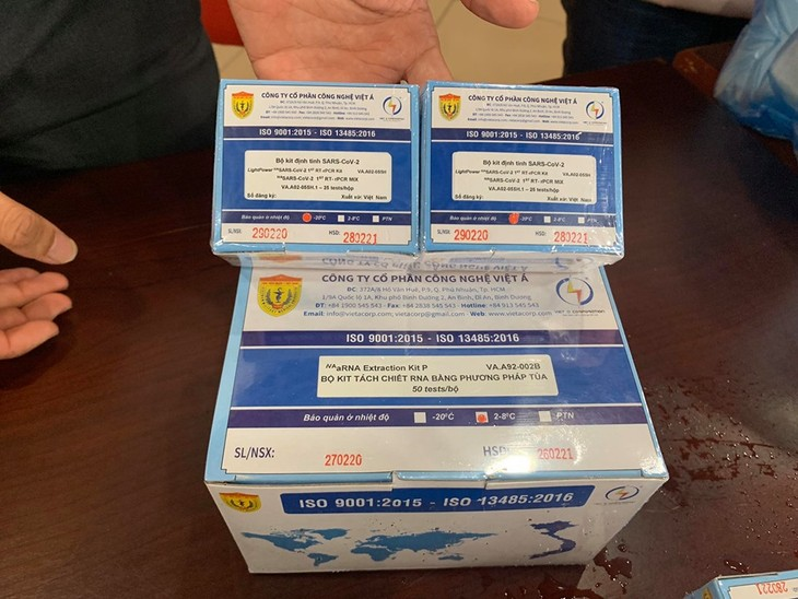 Covid-19 : Les kits de dépistage du Sars-CoV-2 vietnamiens mis sur le marché en Europe - ảnh 1