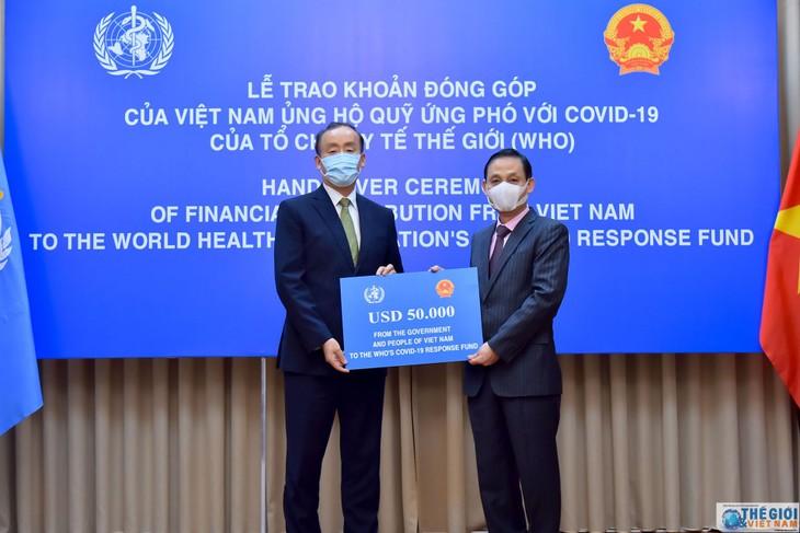 Le Vietnam soutient le Fonds de résilience au Covid-19 de l'OMS - ảnh 1