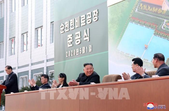 Donald Trump est «content» que Kim Jong-Un soit «de retour et en forme» - ảnh 1