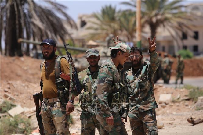 Syrie: des hommes armés tuent neuf policiers dans le sud du pays - ảnh 1