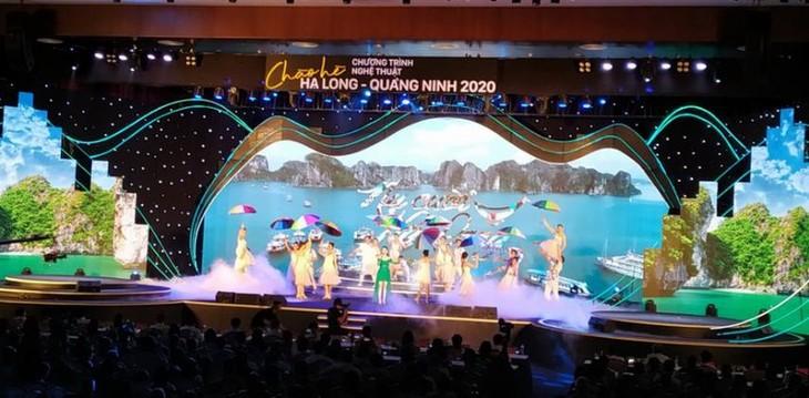 Le programme artistique «Bonjour l'été Ha Long - Quang Ninh 2020» - ảnh 1