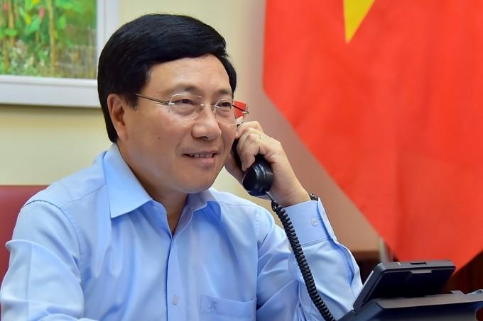 Conversation téléphonique entre Pham Binh Minh et Luigi Di Maio - ảnh 1