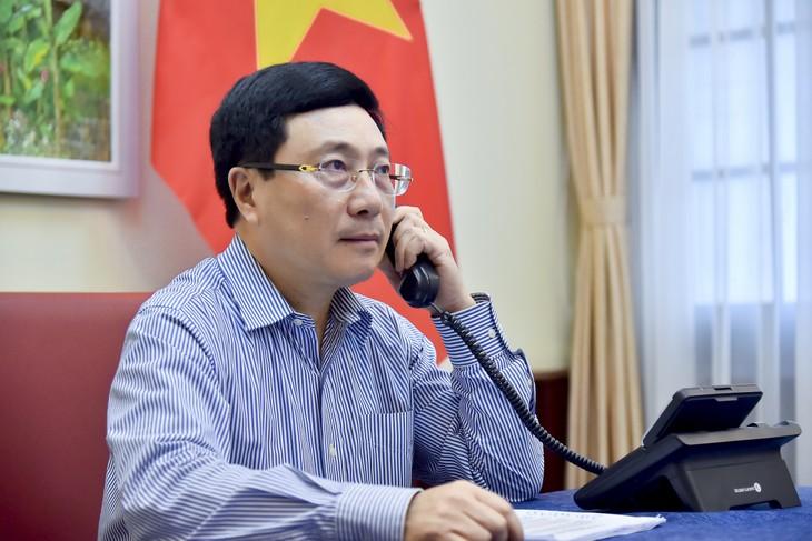 Entretien Pham Binh Minh - Sergei Lavrov - ảnh 1