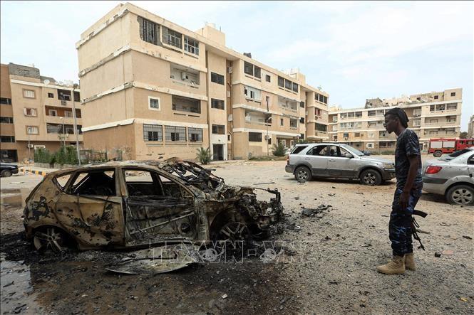 Les Européens lancent un appel au cessez-le-feu en Libye - ảnh 1