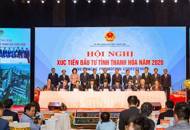Conférence sur l'attractivité de la province de Thanh Hoa - ảnh 1