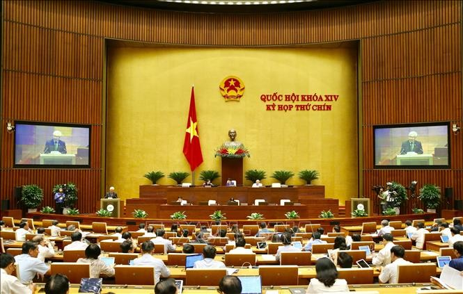 Les lois sur l'approbation d'un accord international et les salariés vietnamiens expatriés en débat à l'AN - ảnh 1