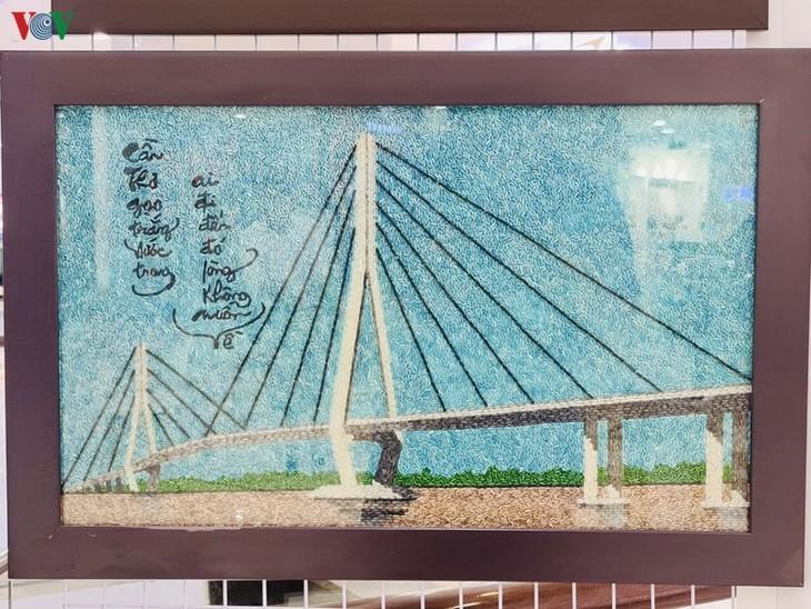 Cân Tho: Exposition de peinture de riz  - ảnh 1