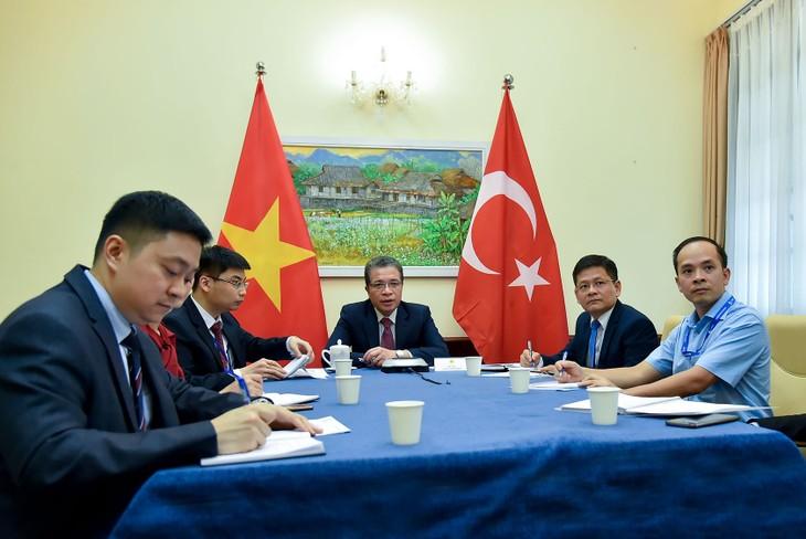 Vietnam-Turquie: Entretien téléphonique de vice-ministres des Affaires étrangères - ảnh 1